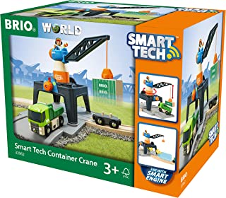 BRIO 33962 World-Smart Tech-Container Crane,