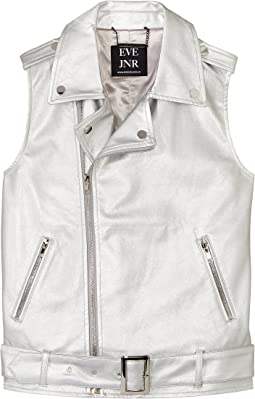 Vegan Leather Vest (Little Kids/Big Kids)