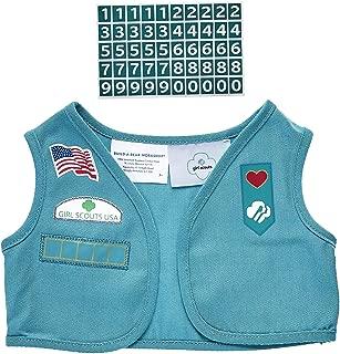 Build A Bear Workshop Girl Scout Junior Uniform Vest