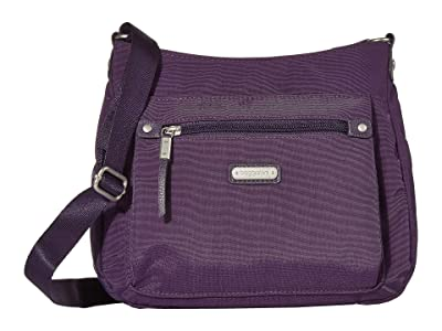 Baggallini New Classic Uptown Bagg with RFID Phone Wristlet (Grape Jelly) Bags