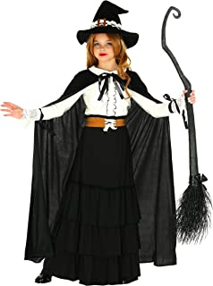 Girl's Old-World Witch Costume Child's Salem Witch Costume