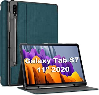 ProCase Galaxy Tab S7 11 Case 2020 with S Pen Holder(SM-T870 T875 T878), Slim Protective Folio Cover for Galaxy Tab S7 202...