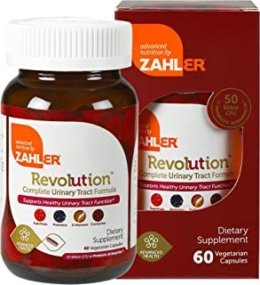 Zahlers UTI Revolution, Urinary Tract and Bladder Health, All Natural Cranberry Concentrate Pills Fortified with D-Mannose...