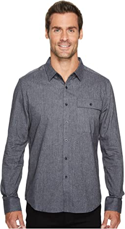 Kenneth Cole Sportswear - Herringbone Shirt