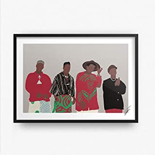 Illustrazioni ispirate a A Tribe Called Quest
