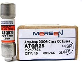 ATQR25 Mersen 600vac 25a Amp-trap time delay fuse