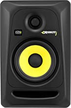 KRK RP5G3 ROKIT 5 G3 2-Way Powered Studio Monitor (Discontinued), Black, 5-Inch (RP5G3-NA)