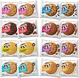 Lenny & Larry's The Complete Cookie, 8 Flavor Variety Pack, Soft Baked, 16g Plant Protein, Vegan, Non-GMO, 4 Ounce Cookie...