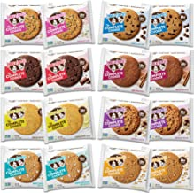 Lenny & Larry's The Complete Cookie, 8 Flavor Variety Pack, Soft Baked, 16g Plant Protein, Vegan, Non-GMO, 4 Ounce Cookie ...