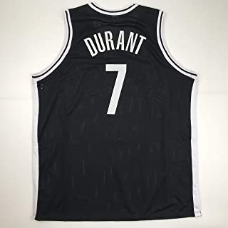 Unsigned Kevin Durant Brooklyn Black Custom Stitched Basketball Jersey Size Men's XL New No Brands/Logos