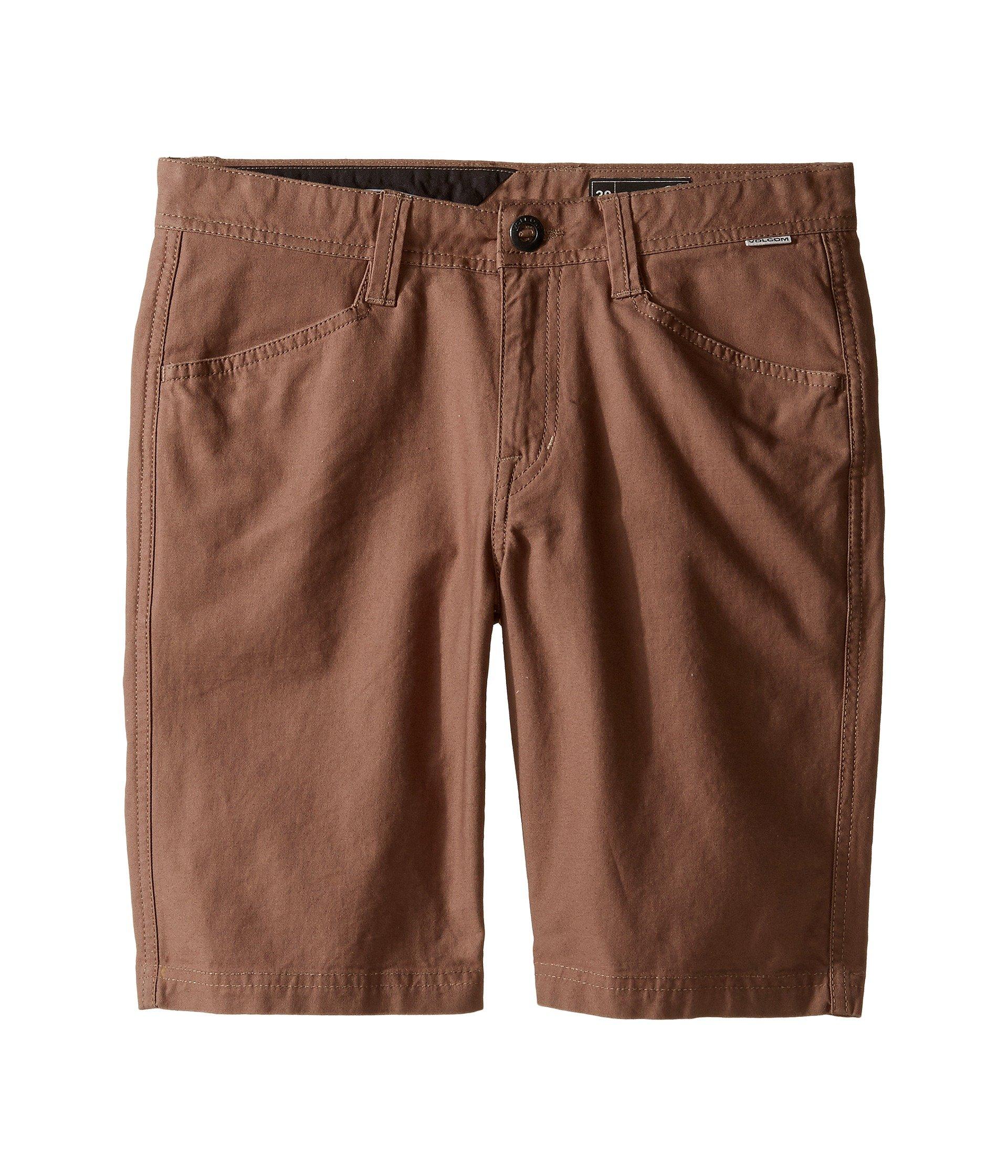 Pantaloneta para Niño Volcom Kids VSM Gritter Shorts (Big Kids)  + Volcom en VeoyCompro.net