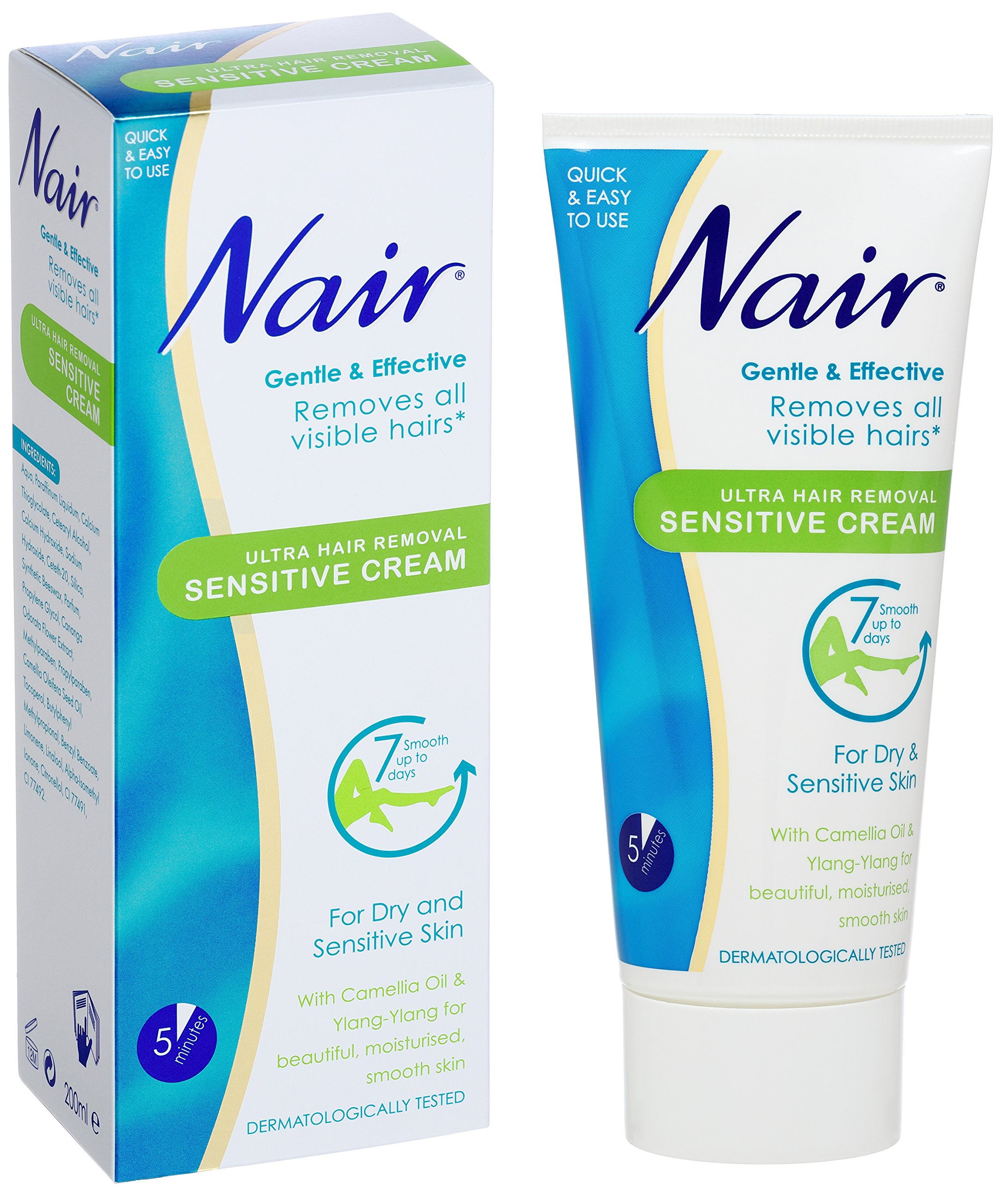 Nair Ultra Hair Removal Sensitive Cream For Dry Sensitive