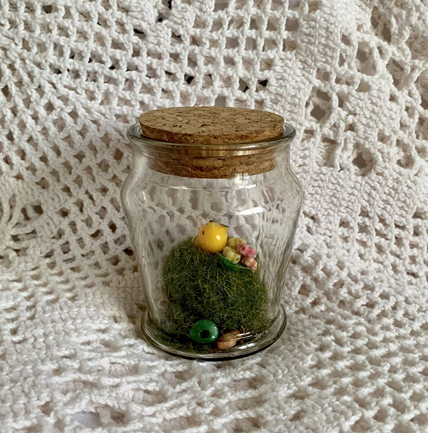 Tiny Cheap super special price Bumble Bee Upcycled Cheap sale Succulent Honey Bees Garden - Terrarium