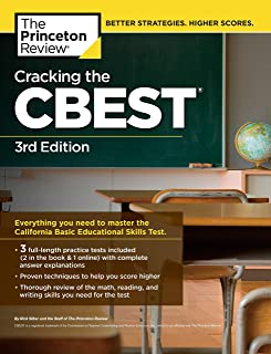 Cracking the CBEST, 3rd Edition (Professional Test Preparation)