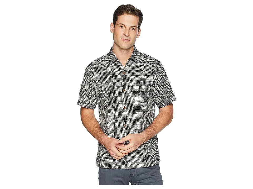 Tommy Bahama - Tommy Bahama Rattan Stripes Camp Shirt