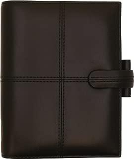 Filofax Classic Personal Organiser for Paper 81x120mm Pocket Black Ref 424060