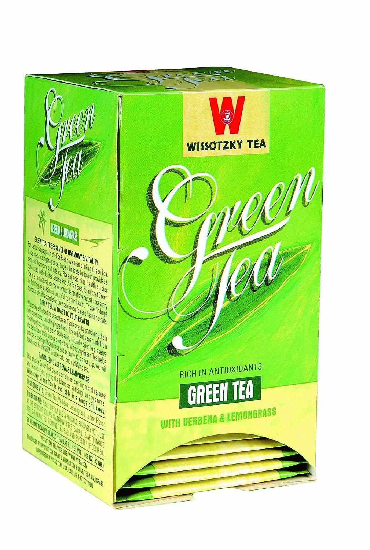 Wissotzky Green Financial sales sale Tea with trend rank Lemongrass Verbana and 1.06-Ounce Boxe