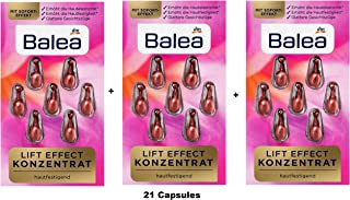 Concentrate Lift effect Face Care Serum / 21 Capsules
