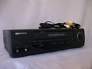 Daewoo 4-Head Mono VCR (DV-T47N)