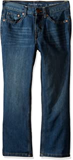 Calvin Klein Boys' Slim Straight Denim Jean