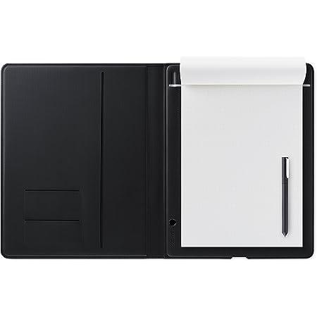 ワコム Wacom Bamboo Folio L A4サイズ対応 スマートパッド ダークグレー ボールペンで紙にメモやスケッチを書いてデジタル化 スマホ タブレット対応 CDS810G