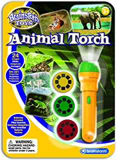 brainstorm Torch & Projector: Animal Green/Yellow,BSE2012