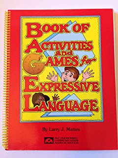 Book of activities and games for expressive language