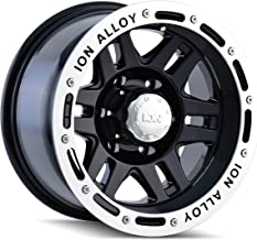 Ion Alloy 133 Black Beadlock Wheel (15x8
