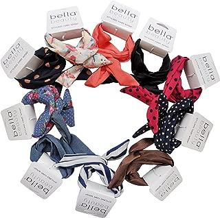 Bella Beauty, Women's Fashion Hair Wraps, Assorted Headbands - 19 Piece Set