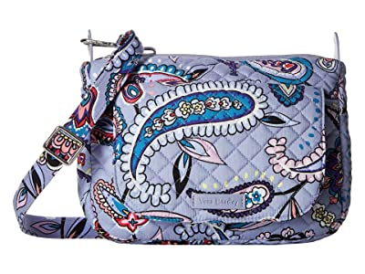 Vera Bradley Carson Mini Shoulder Bag (Makani Paisley) Cross Body Handbags