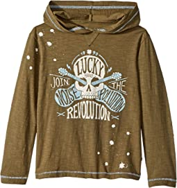 Lucky Brand Kids - Make Noise Hoodie (Little Kids/Big Kids)
