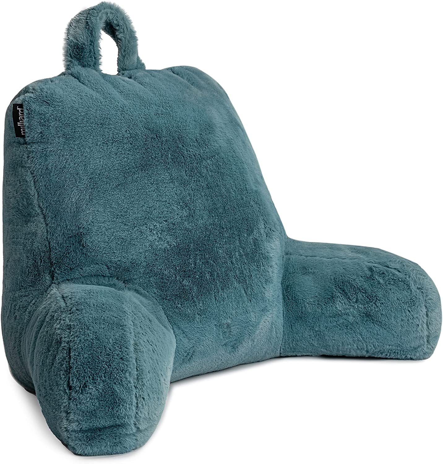 Milliard Reading Pillow with Shredded Memory Back Rest Some reservation Foam Pil Today's only