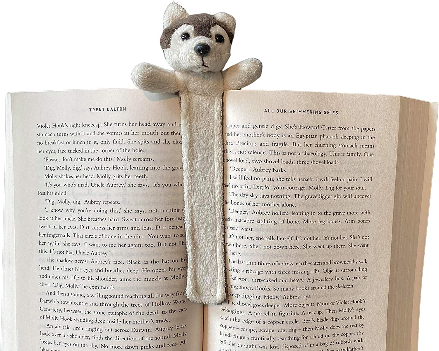 Wolf Reading Ranking TOP13 Max 76% OFF Friend Kids Animal Bookmark Great an Girls for Gift