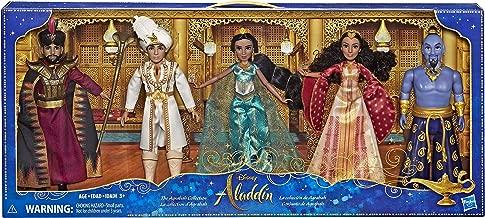 Disney Aladdin Agrabah Collection, 5 Fashion Dolls with Accessories Inspired by Disney's Live-Action Movie, Genie, Aladdin, Princess Jasmine, Dalia, Jafar