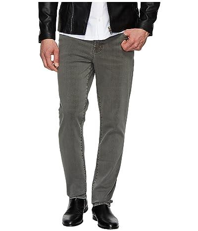 Liverpool Slim Straight Stretch Denim Jeans in Gunmetal (Gunmetal) Men