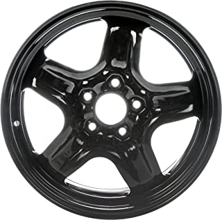 "Dorman 939-103 Black Steel Road Wheel 17x7.5""/5x114.3mm with 44.5mm Offset"