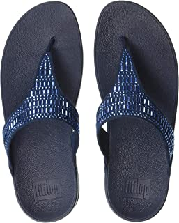 4420026a9f20 fitflop Womens Incastone Toe-Thong Sandals Flip-Flop