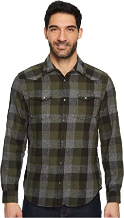 Calvin Klein Jeans - Buffalo Brushed Twill Button Down Shirt