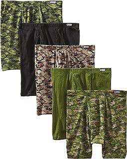Men's 5-Pack Comfort Soft Boxer Briefs