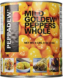 Peppadew Whole Goldew Fruit Yellow Peppers - 105oz