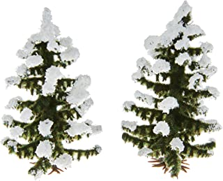 Busch 6151 Snow Covered Spruce 2/ HO Scenery Scale Model Scenery