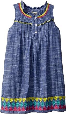 Hatley Kids - Rainfall Chambray Dress (Toddler/Little Kids/Big Kids)