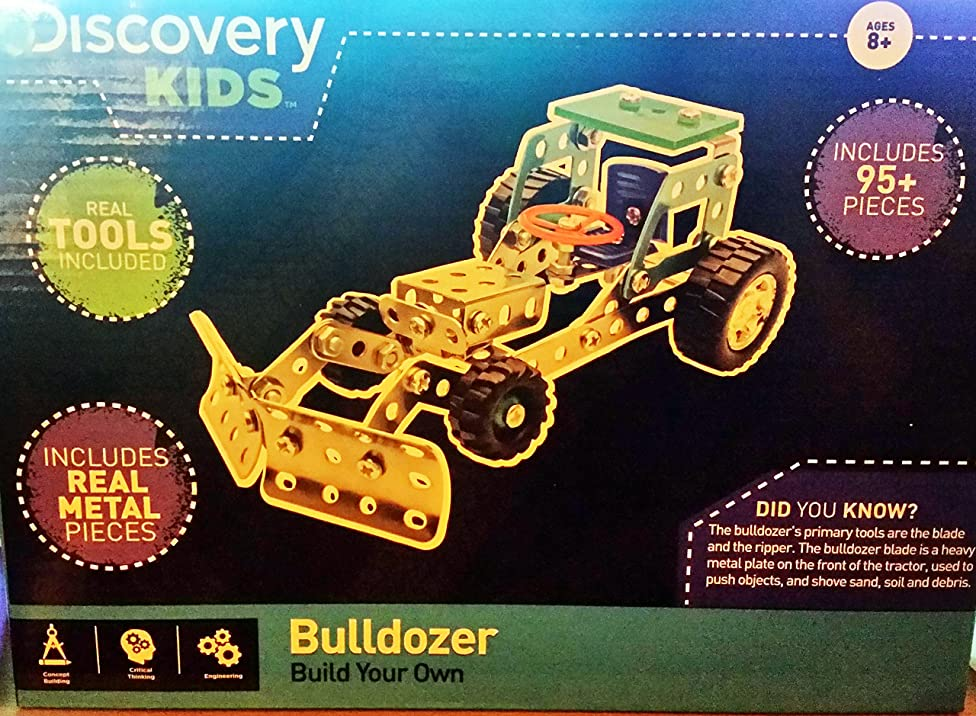 Discovery Kids Build Your Own Bulldozer or Dump Truck