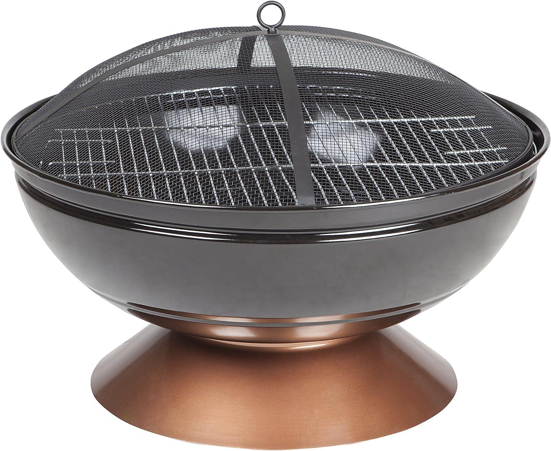 Fire Sense Degano Round Fire Pit – Best with Simplistic Design