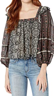 Free People Women's Mostly Meadow Blouse