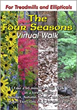 The Four Seasons Nature Walk Treadmill Scenery DVD