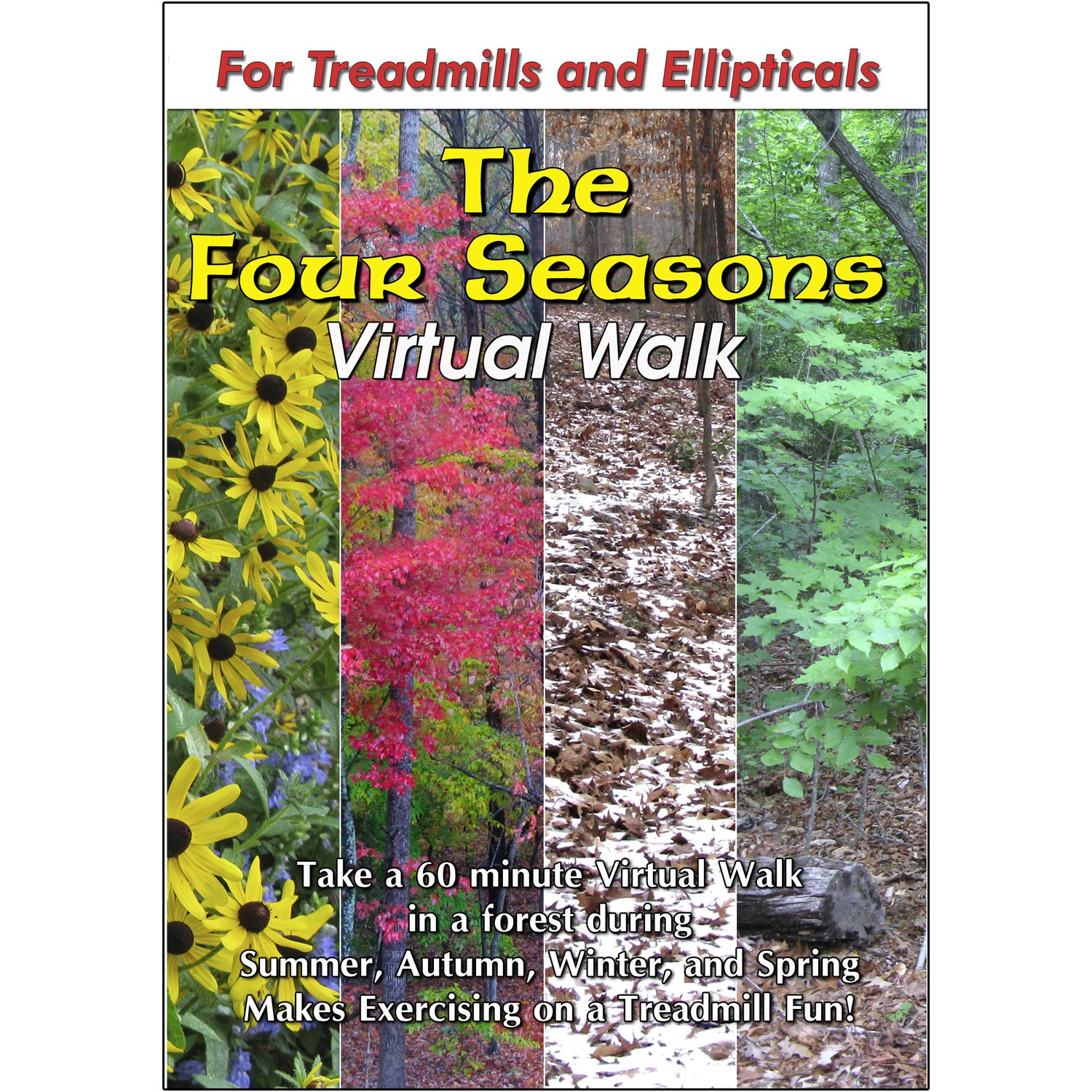 The Four Seasons Nature Treadmill Walk DVD It is very Popular brand in the world popular Scenery