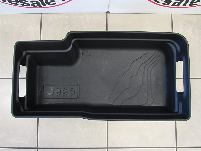 Mopar Jeep Wrangler (JL) Cargo Area Rubber Tub Liner New OEM