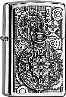 Zippo Reloj de bolsillo cromo pulido Mechero/2004742