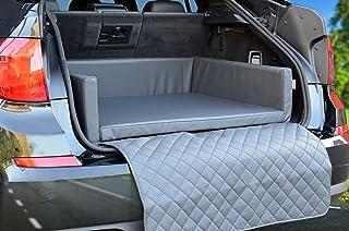 PadsForAll Autoschondecke   Kofferraum Schutzdecke   Auto   Hundebett in Grau Kunstleder mypado®